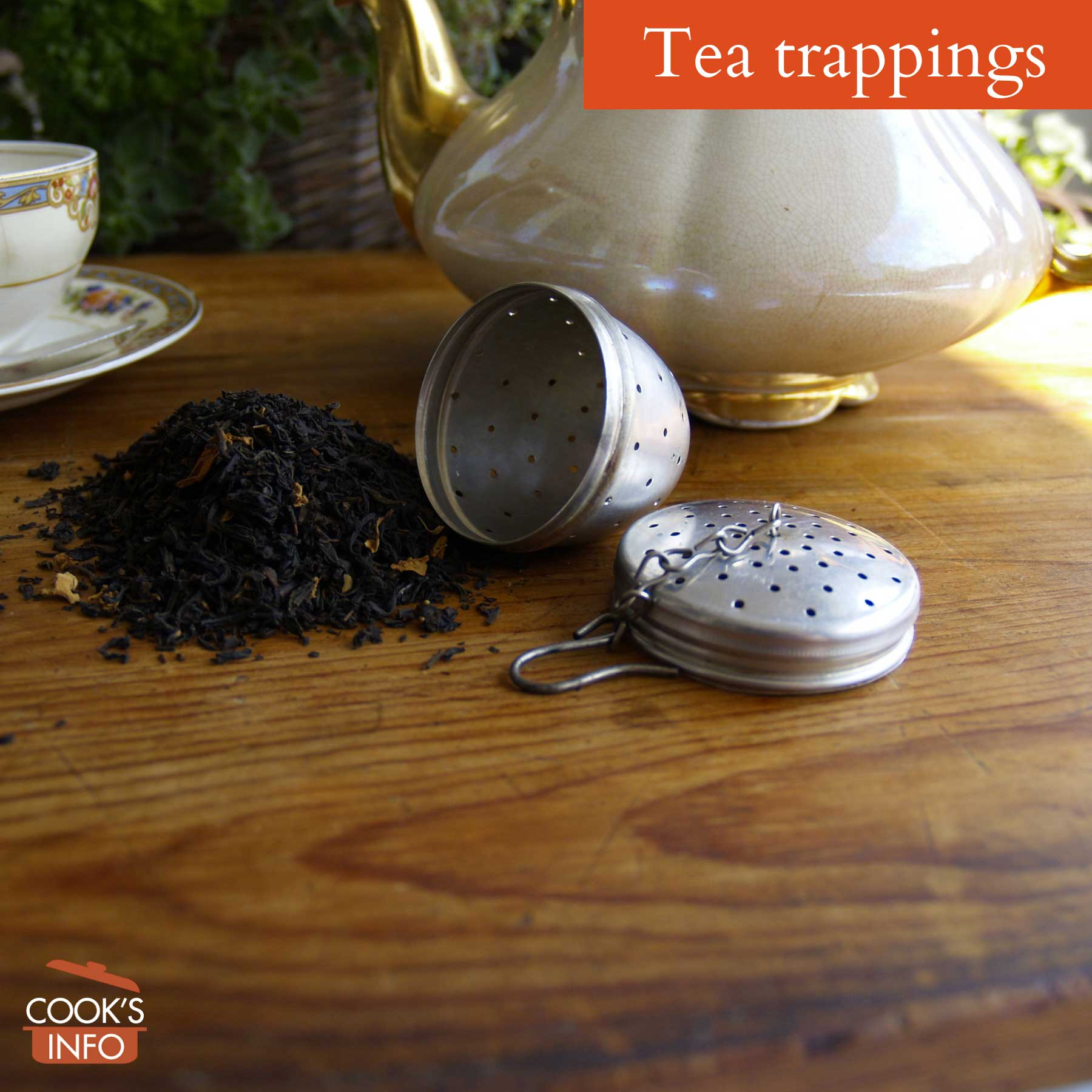 Tea trappings
