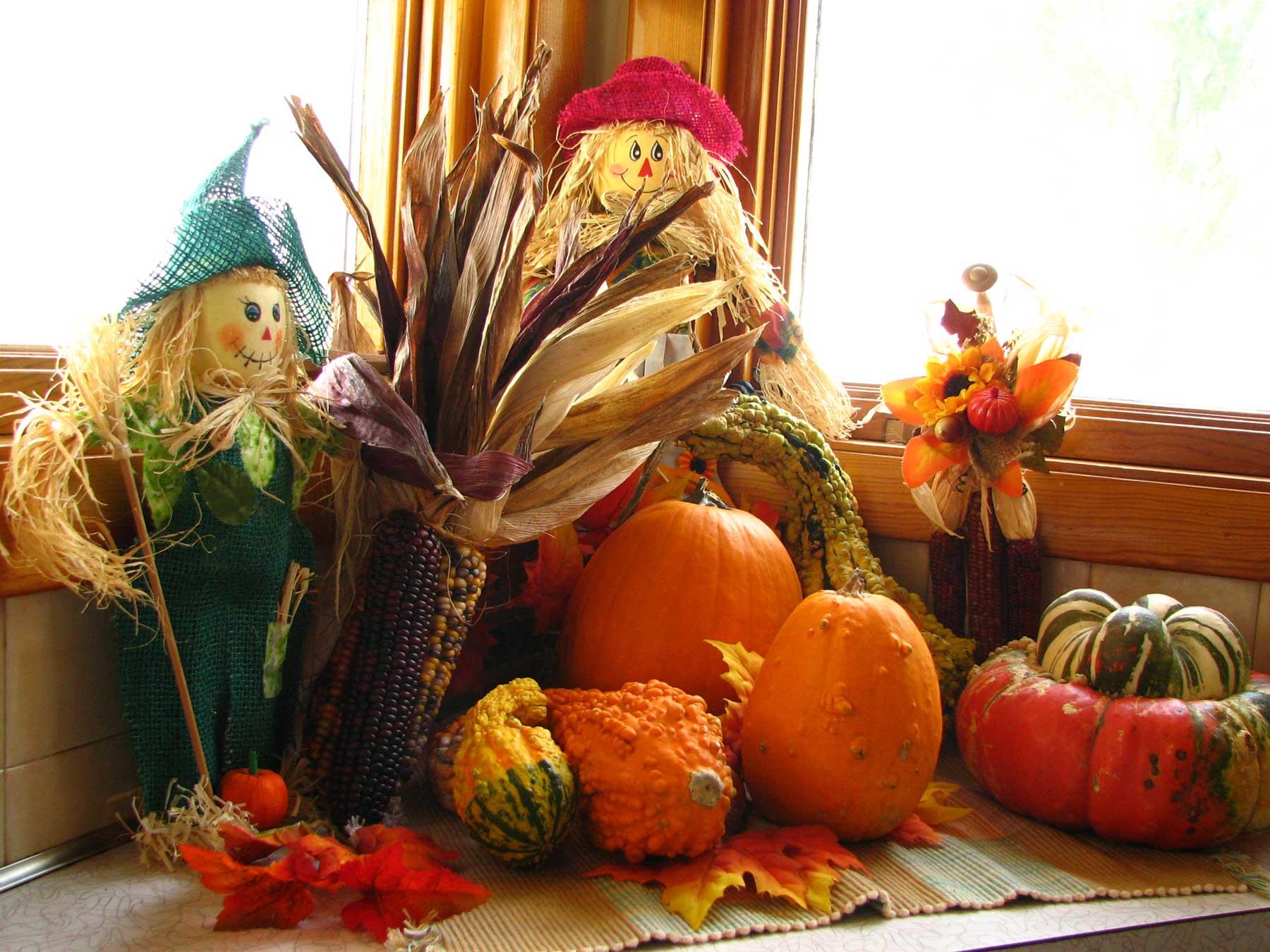 Thanksgiving display