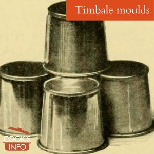 Timbale Moulds