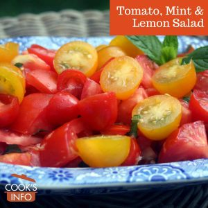 Tomato, Mint & Lemon Salad