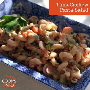 Tuna Cashew Pasta Salad