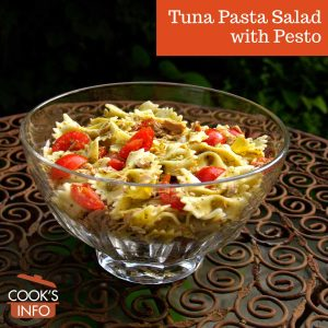 Tuna Pasta Salad with Pesto