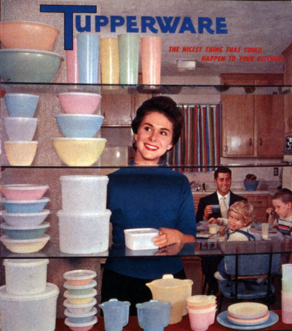 Tupperware ad 1958