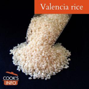 Valencia rice