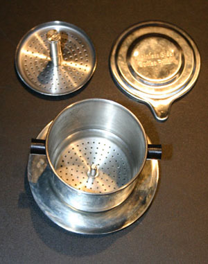 Vietnamese coffee press parts