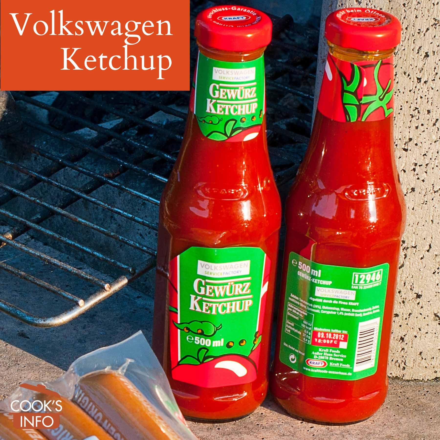 Ketchup from Volkswagen
