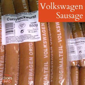 Volkswagen sausage