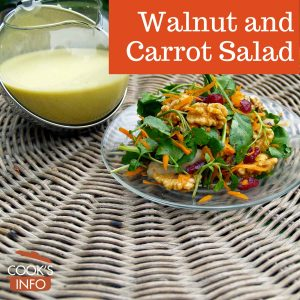 Walnut and Carrot Salad