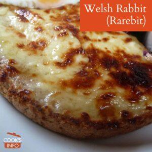 Welsh Rabbit (Rarebit)
