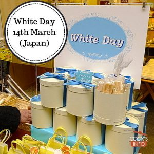 White day sales