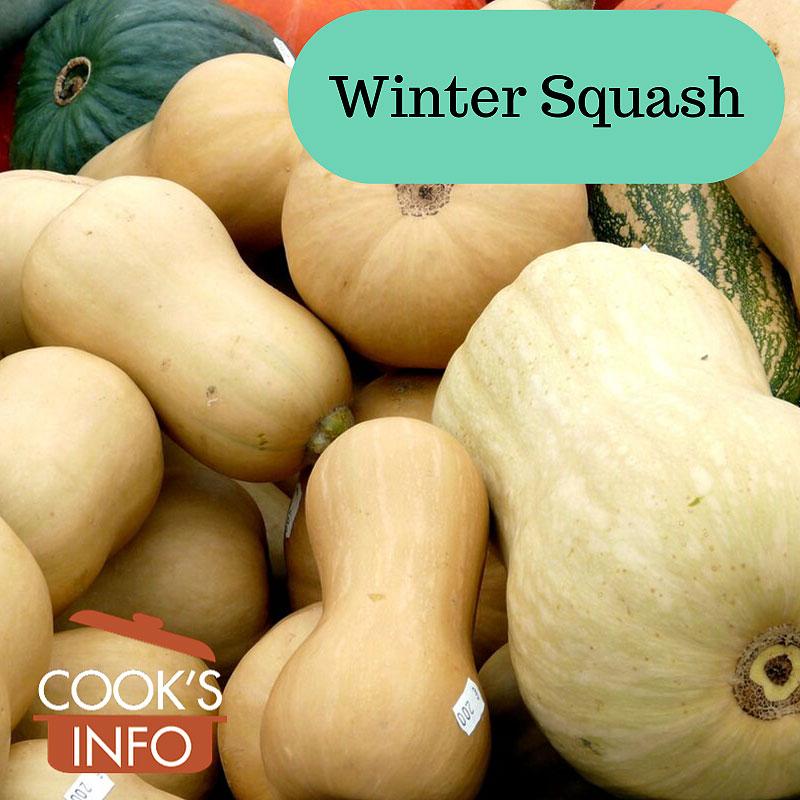 Winter squashes