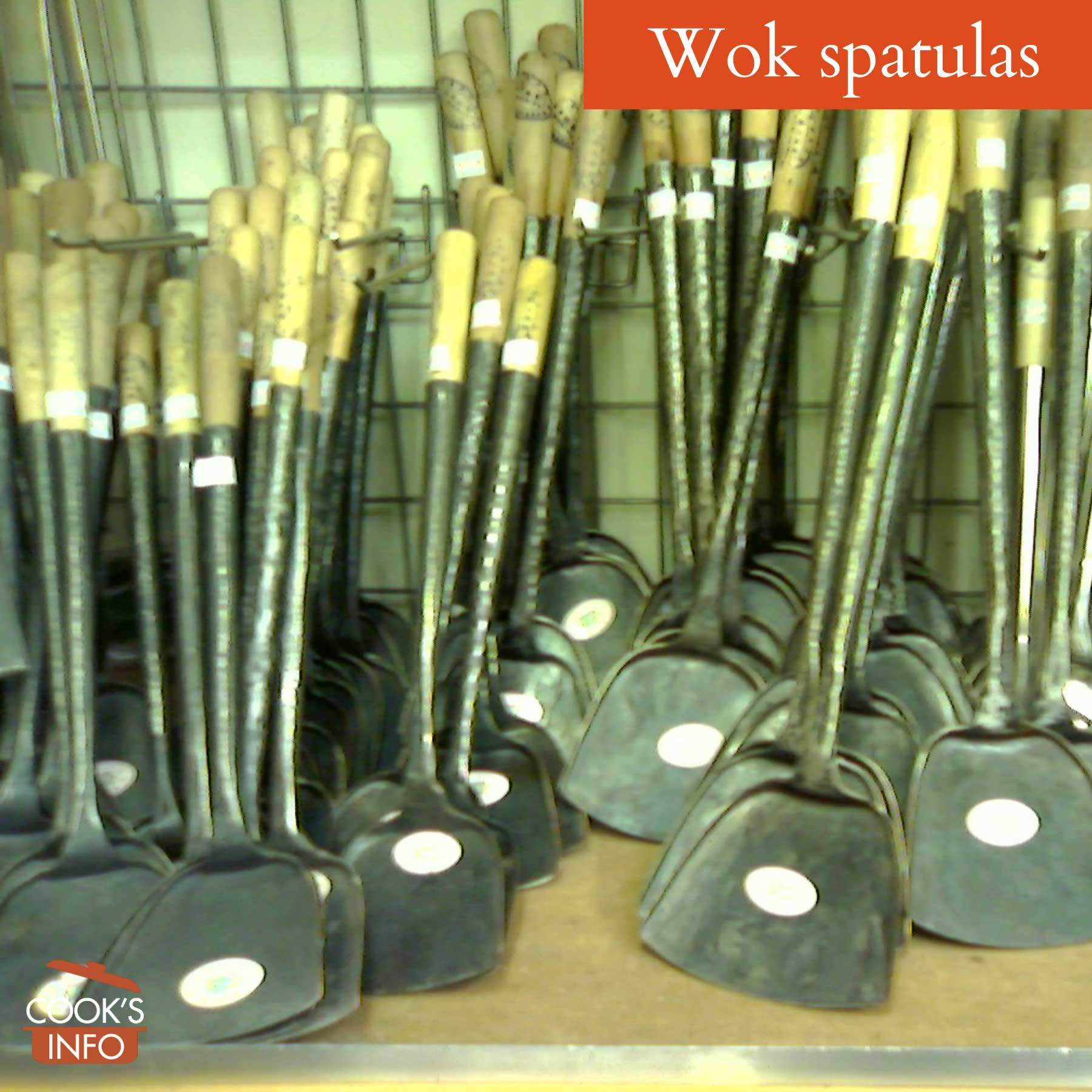Wok spatulas