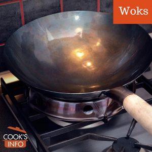 Wok on wok ring