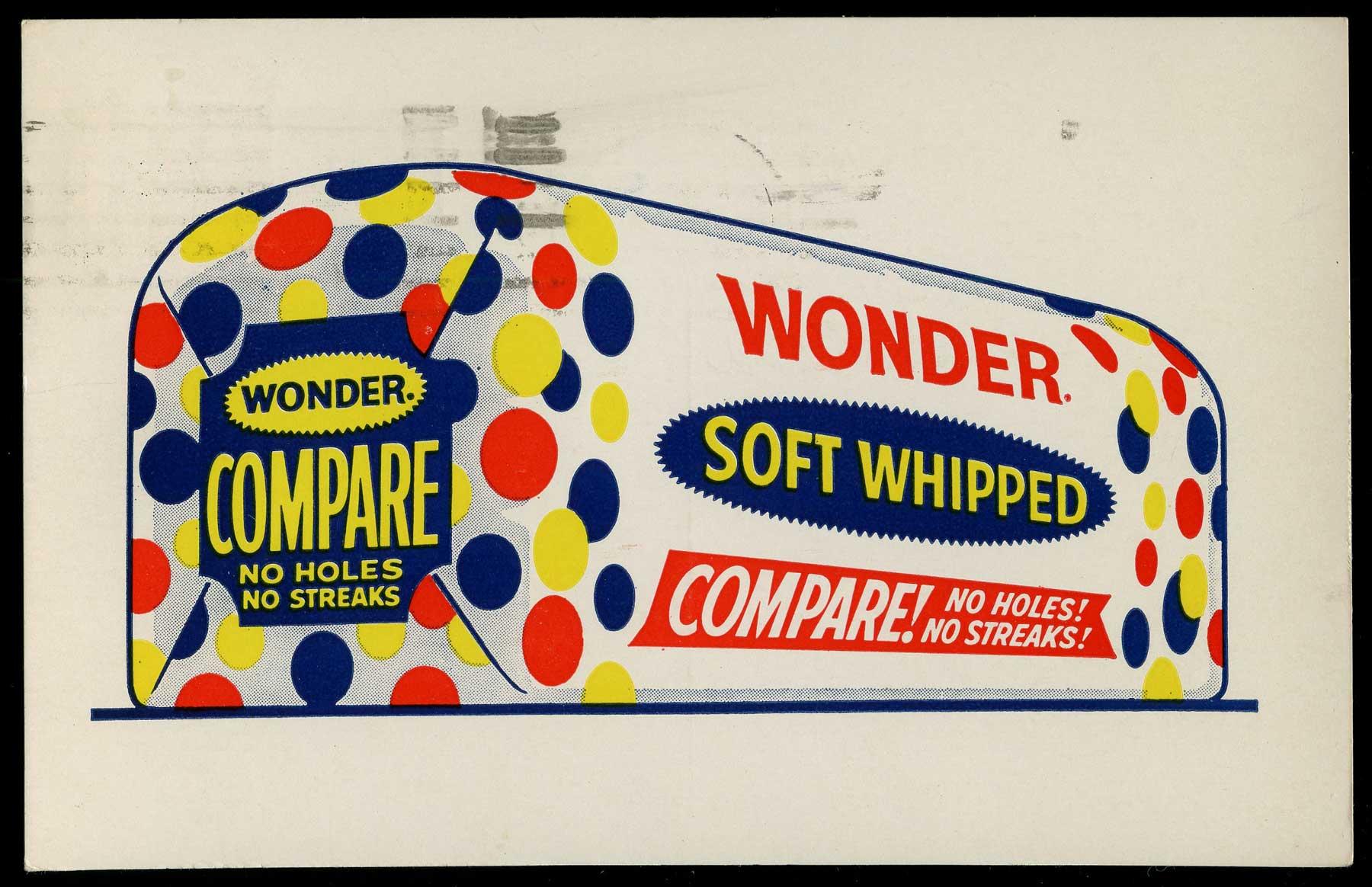 Wonder Bread 1961 Advertising