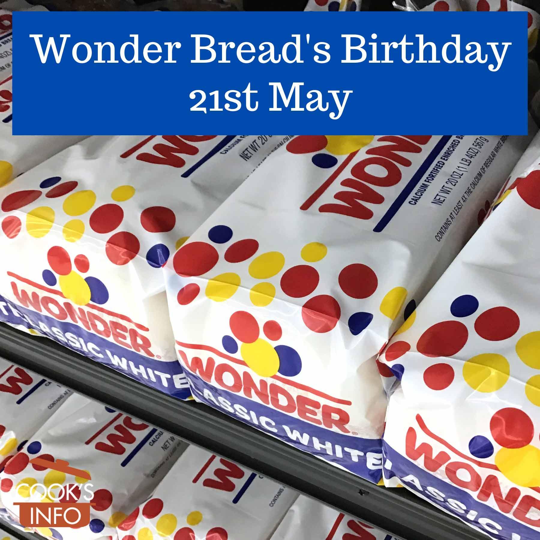 Wonder Bread on shelf