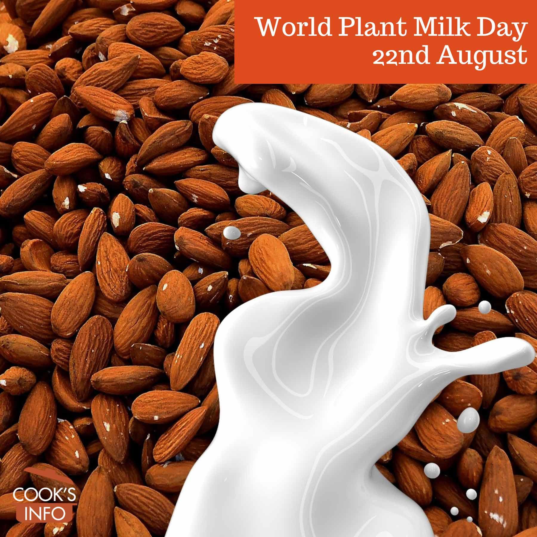 Milk from almonds