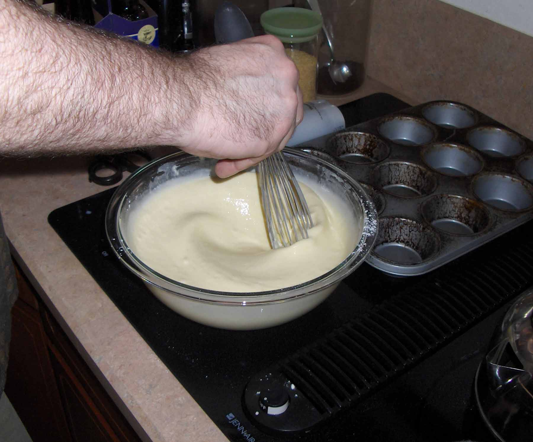 Yorkshire pudding batter