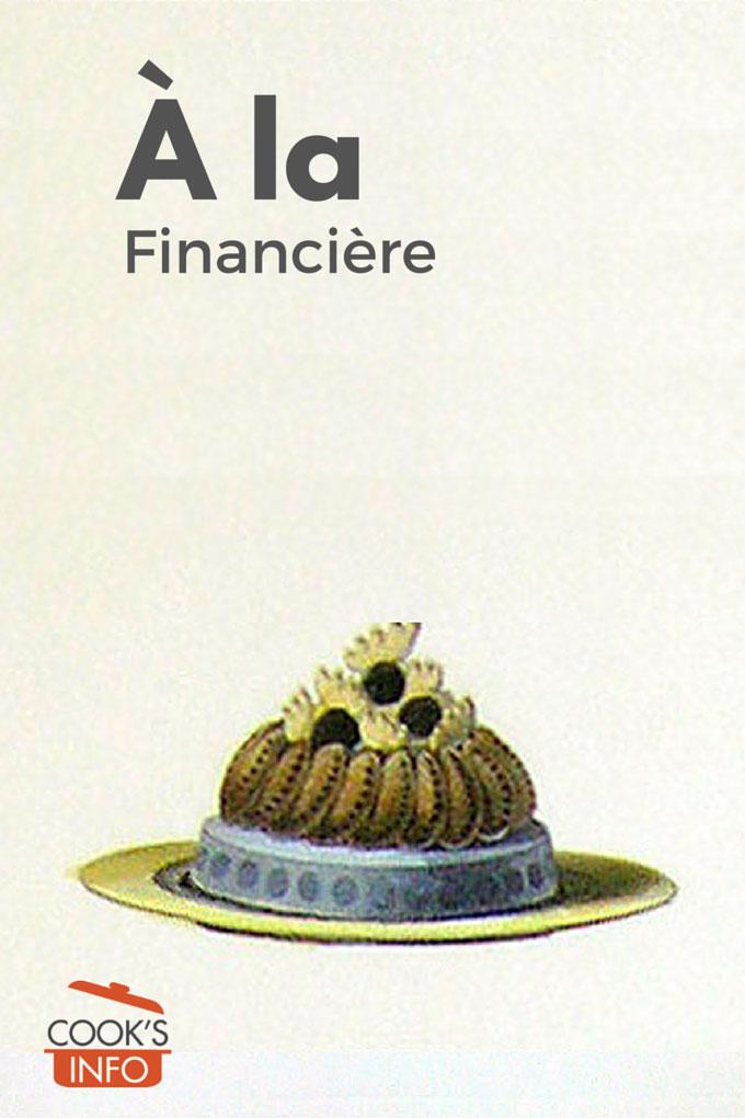 Quenelles de faisan à la financière