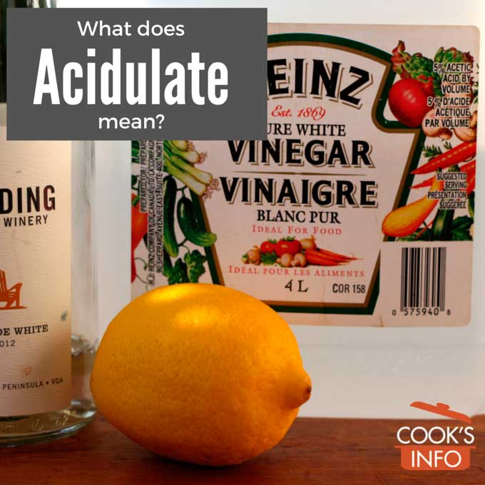 Acidulate