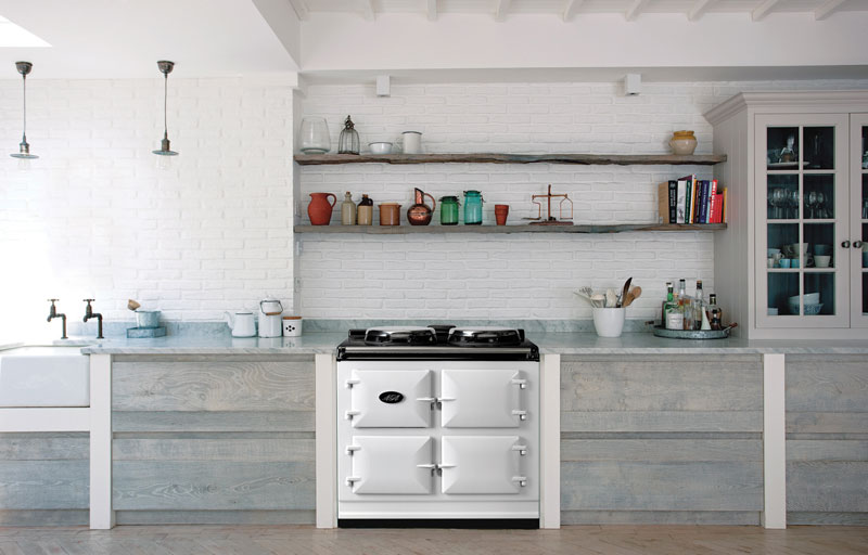 AGA Dual Control with 3 ovens