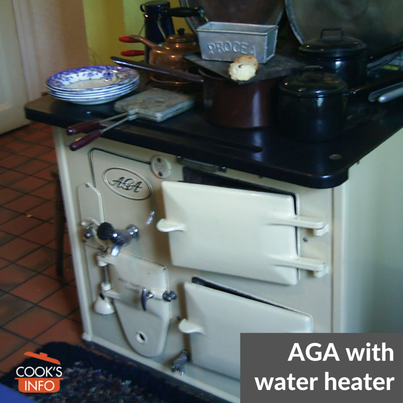 AGA with water boiler heater