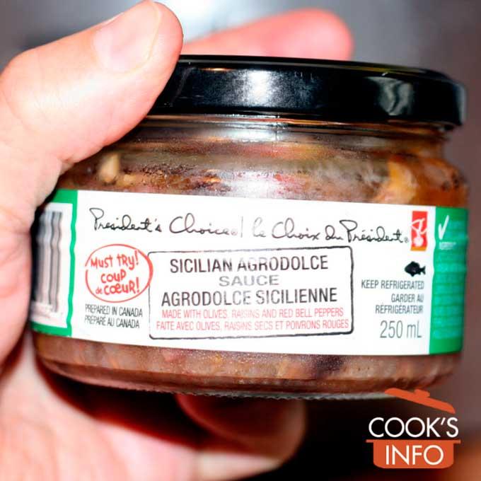 Agrodolce Sauce Bottle