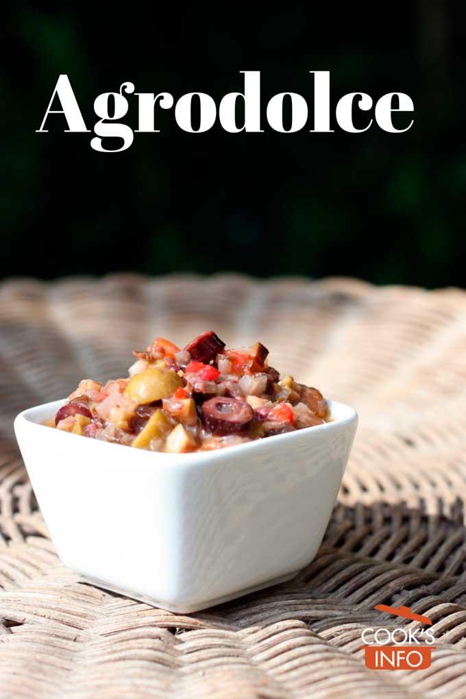 Agrodulce Sauce