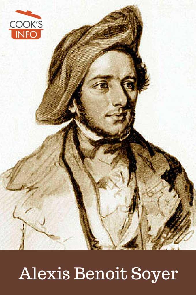 Alexis Benoit Soyer