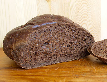American-style Pumpernickel Bread