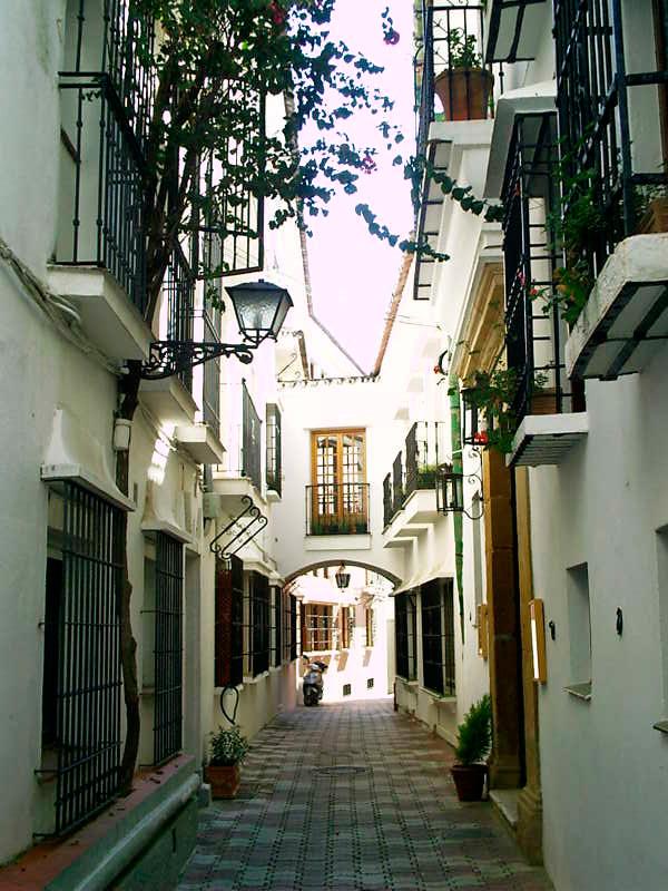 Andalusian lane