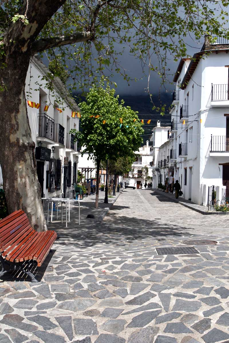 Village square in Andalusia