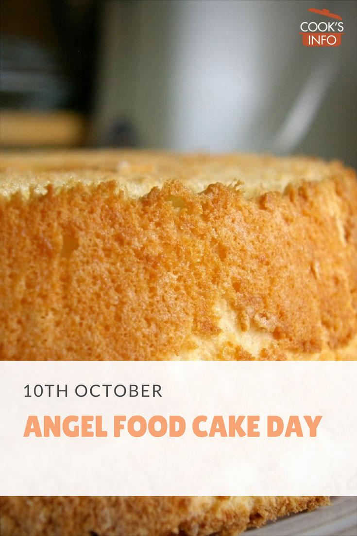 Angel Food Cake Day