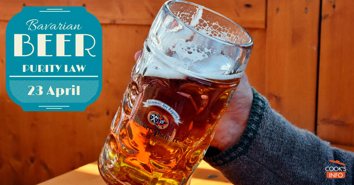 Bavarian Beer Purity Law Day