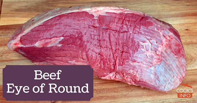 Beef Eye of Round