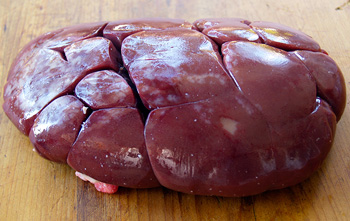 Beef Liver Whole