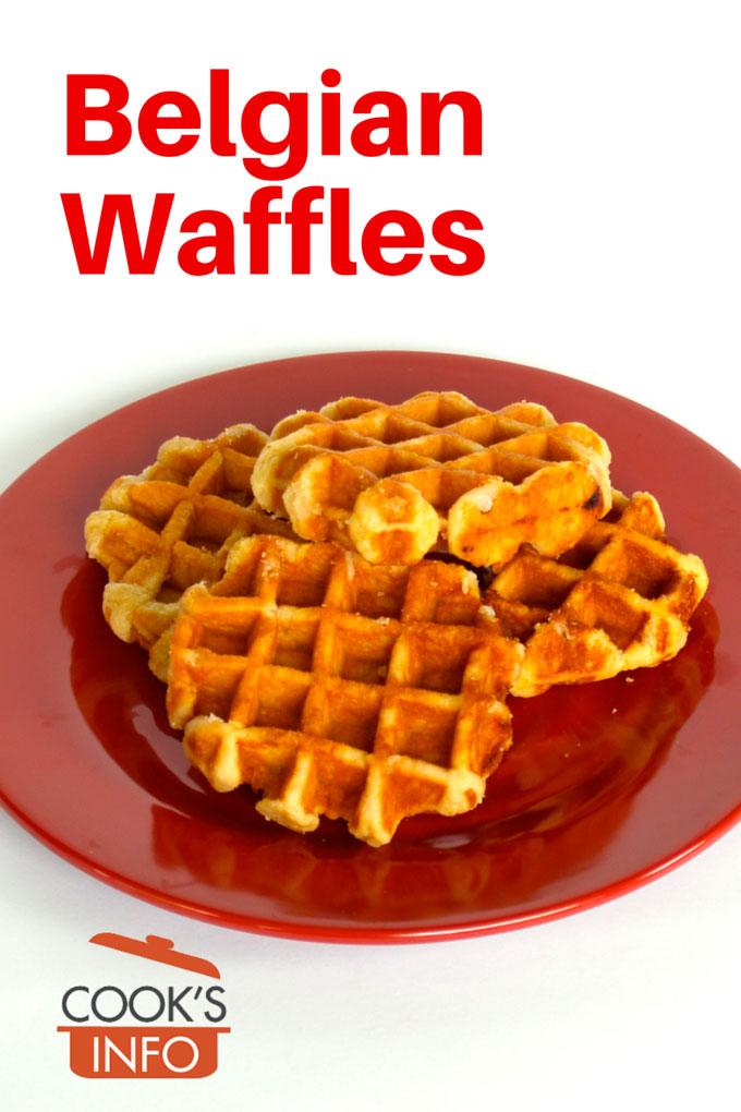 how to make sugar waffles