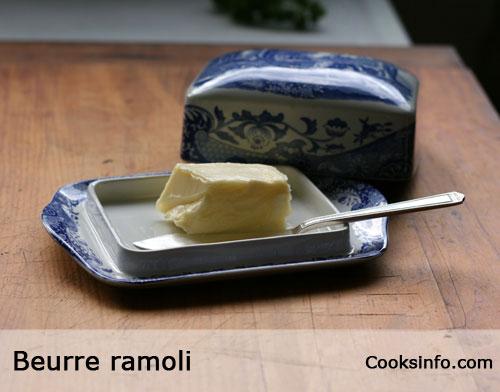 Beurre Ramoli