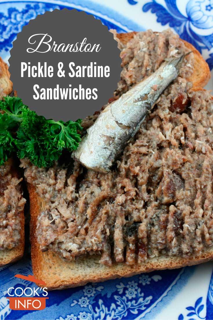 Branston Pickle and Sardine Sandwiches Recipe