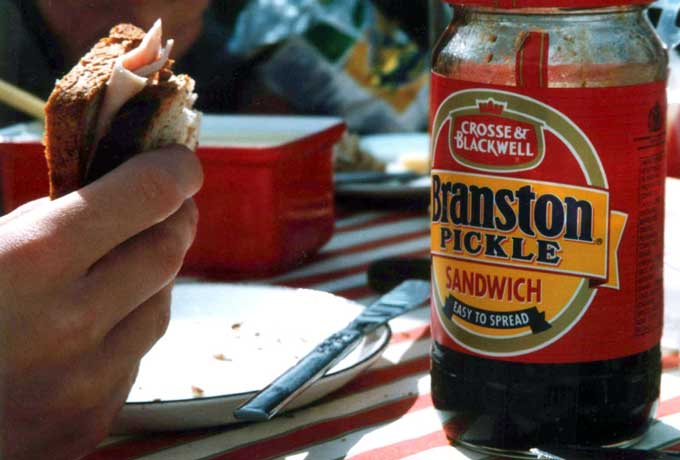 Branston Pickle Sandwich version