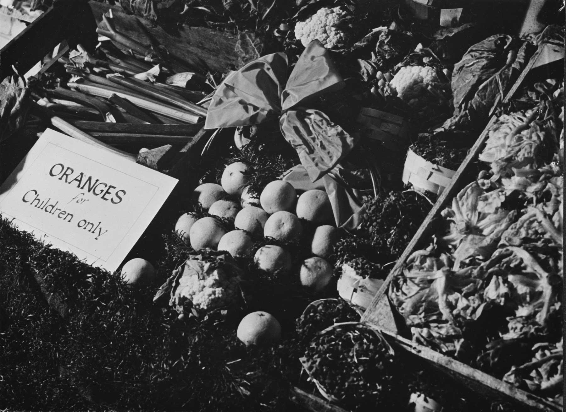Oranges on restricted sale for children only