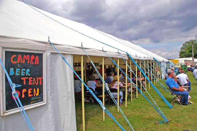 CAMRA Beer Tent