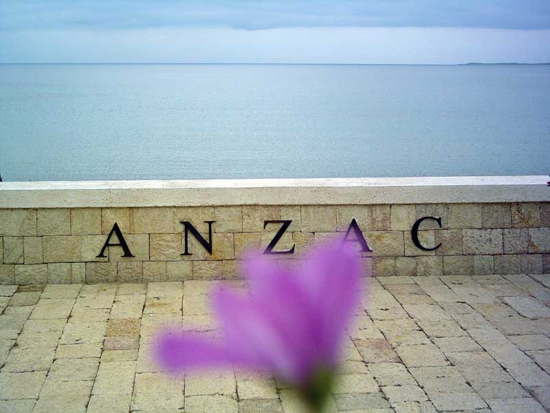 Anzac Cove - Gallipoli, Canakkale, Turkey.
