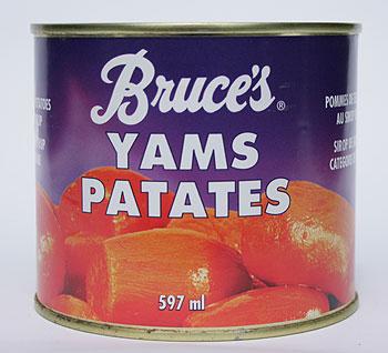 Canned Yams