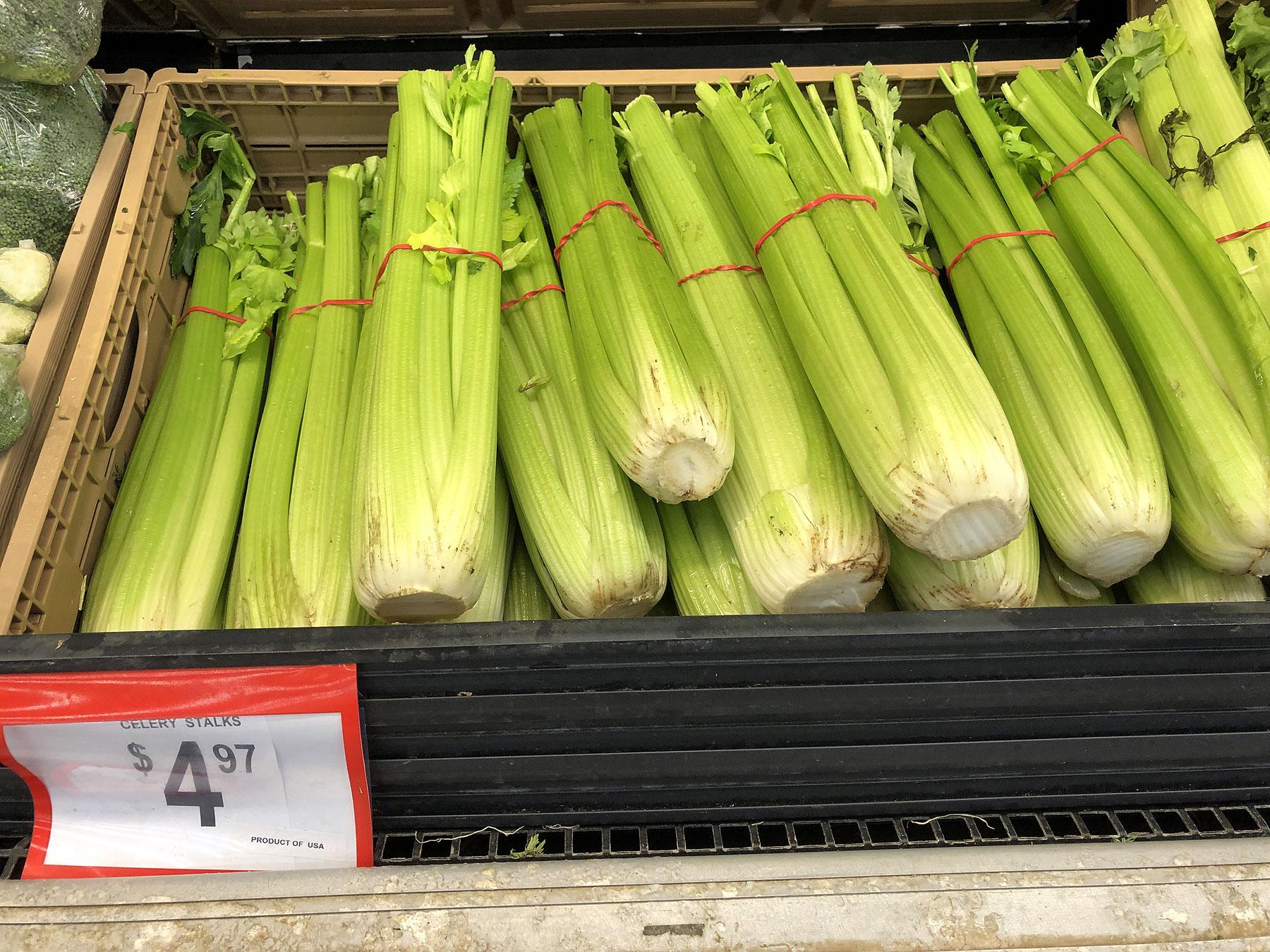 Celery in store