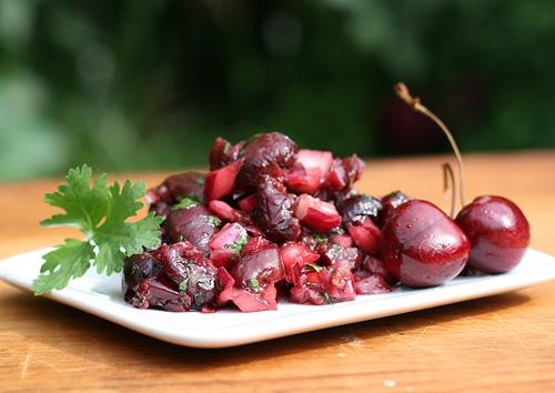 Charred Cherry Salsa
