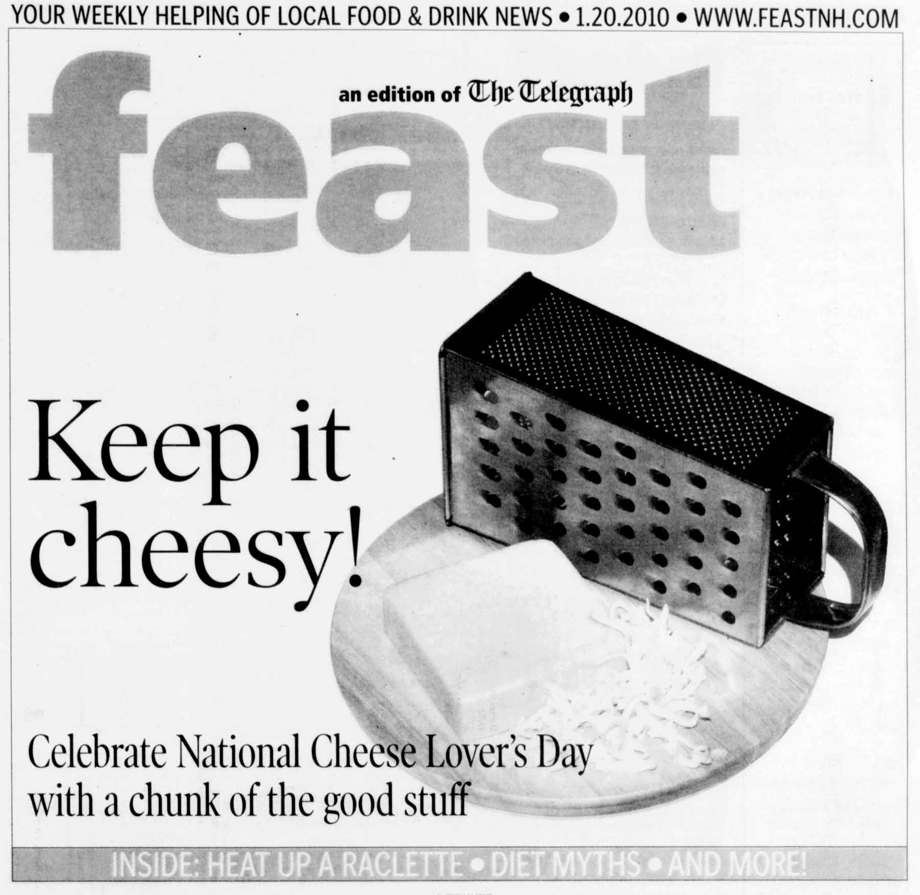 Cheese Lover's Day ad