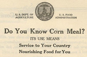 Cornmeal Pamphlet 1917