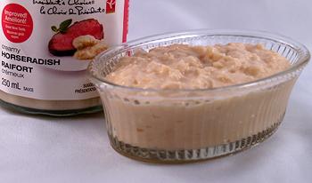 Creamed Horseradish