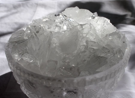 Coarsely Crushed Ice