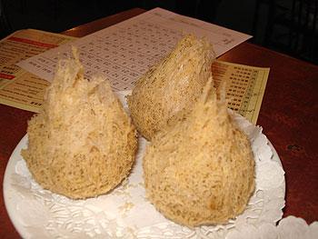 Deep Fried Taro Balls